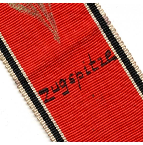 "Order of the German eagle ""Adler orde"" ribbon, used as GI souvenir 1945"