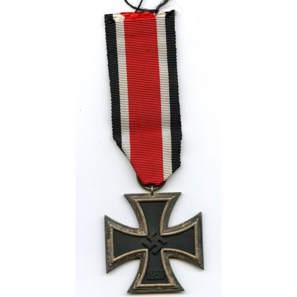 """Iron cross 2nd class by Friedrich Keller """"66."""""""