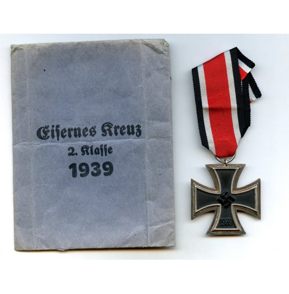 "Iron cross 2nd class by J. Maurer ""75"" + package"