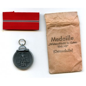 "East front medal by C.F. Zimmermann ""20"" + package"