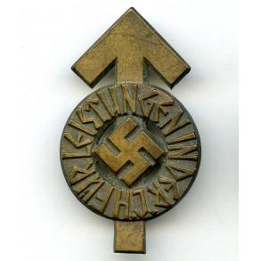 "HJ leader proficiency badge in bronze by G. Brehmer ""M1/101"""