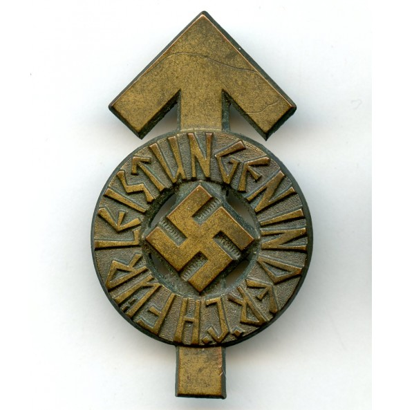"HJ leader proficiency badge in bronze by G. Brehmer ""M1/101"""