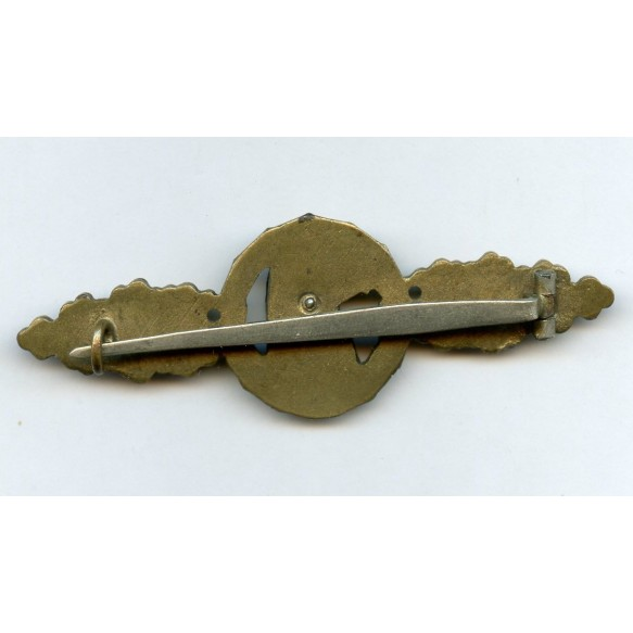 Luftwaffe reconnaissance clasp in gold by C.E. Juncker