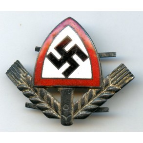 Early enamel RAD cap badge by Assmann & Söhne