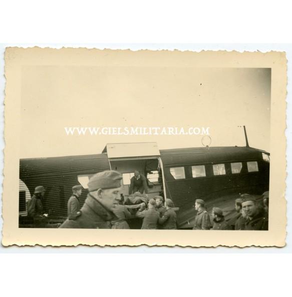 Private photo medical transport JU52