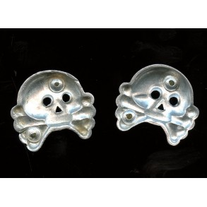 Set of aluminium panzer skulls