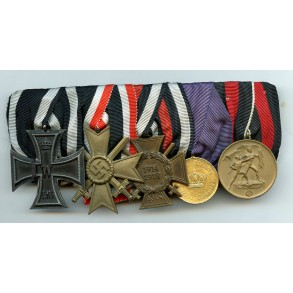 5 place medal bar