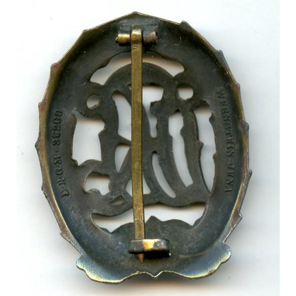 DRL sport badge in bronze by Wernstein