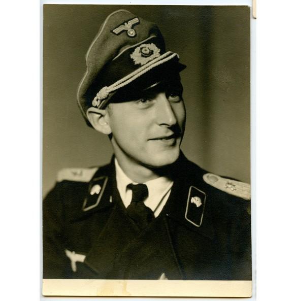 """Portrait panzer officer """"Otto"""" 1944"""