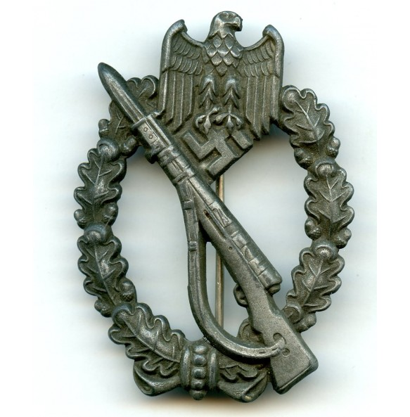 Infantry assault badge in bronze by Friedrich Linden