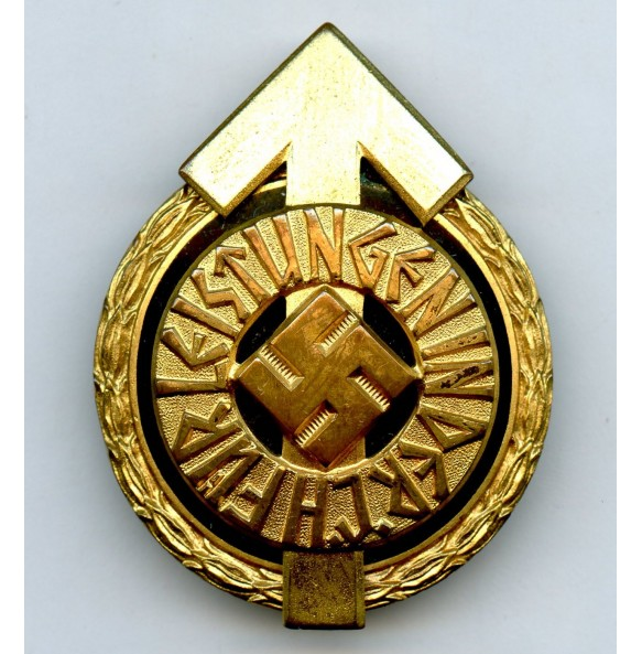 """HJ Proficiency badge in gold #10948 by G. Brehmer """"M1/101"""""""