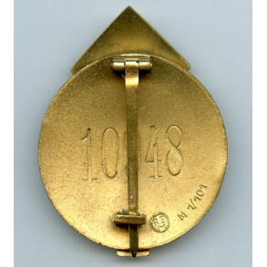 "HJ Proficiency badge in gold #10948 by G. Brehmer ""M1/101"""