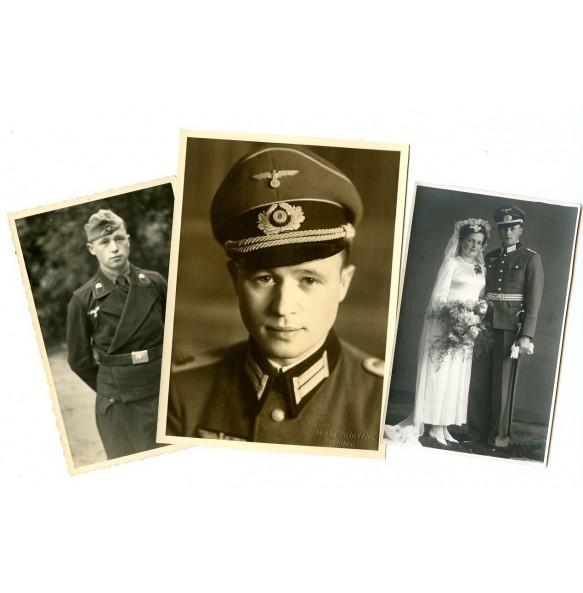 """Portrait lot officer """"Grossdeutschland"""""""