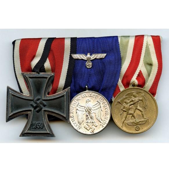 Memel medal bar