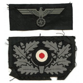 Panzer insignia for the 1940 panzer beret