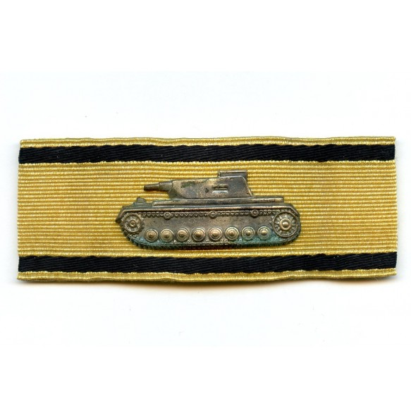 Tank destruction badge in gold