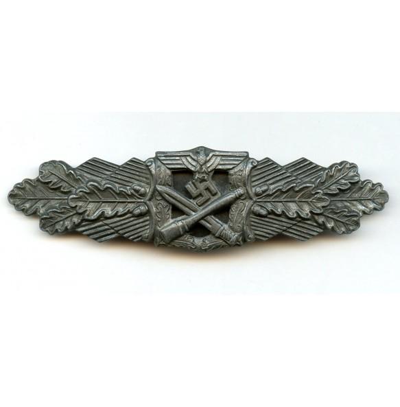 "Close combat clasp in bronze bu R. Souval ""R.S."""