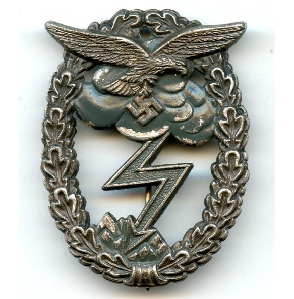 Luftwaffe ground assault badge by Arno Wallpach