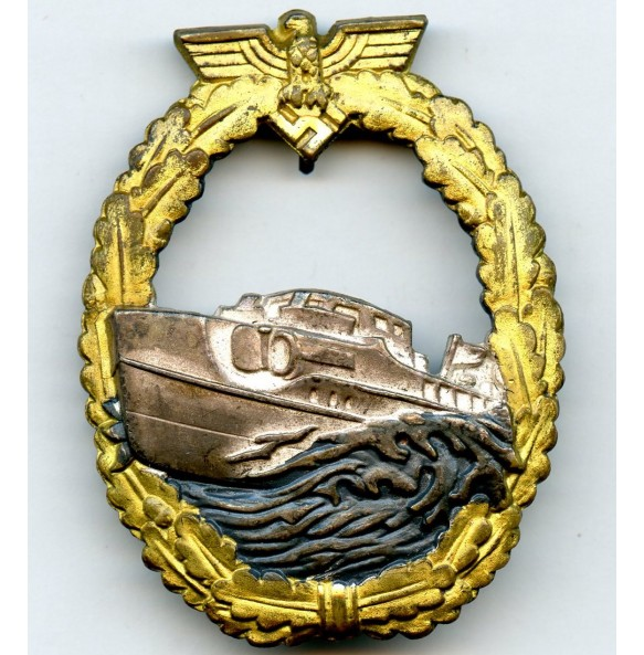Kriegsmarine S-boat badge, 1st pattern by Schwerin