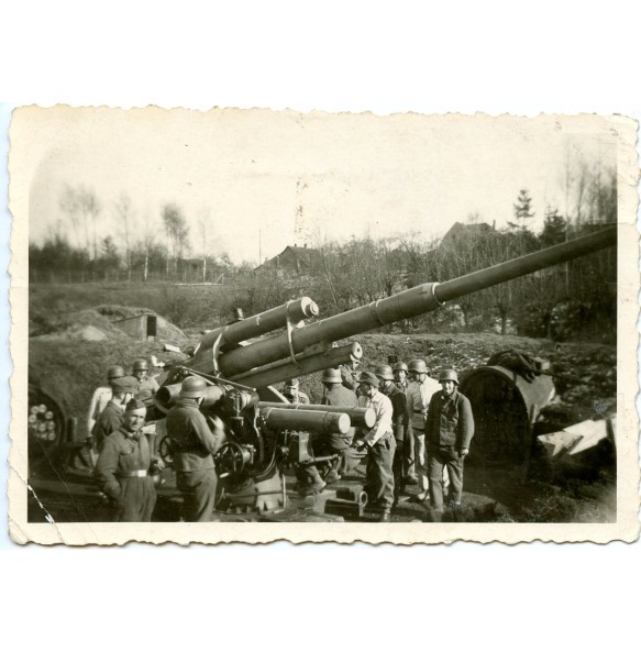 Private photo Flak 88 nest in Solingen 1944 (2)