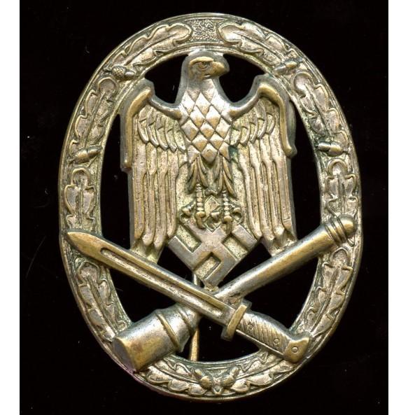 General assault badge by Wilhelm Deumer