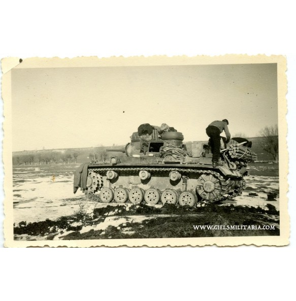 Private photo panzer III in Bulgaria 1941 (2)