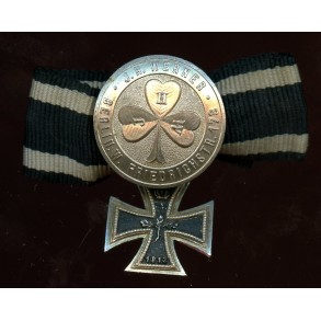 1914 iron cross 2nd class miniature