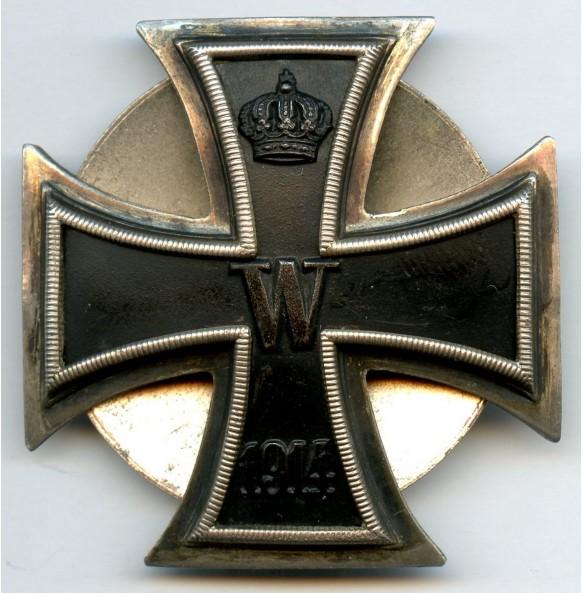 "1914 Iron cross 1st class, screwback variant, ""800"" silver + ""3"""