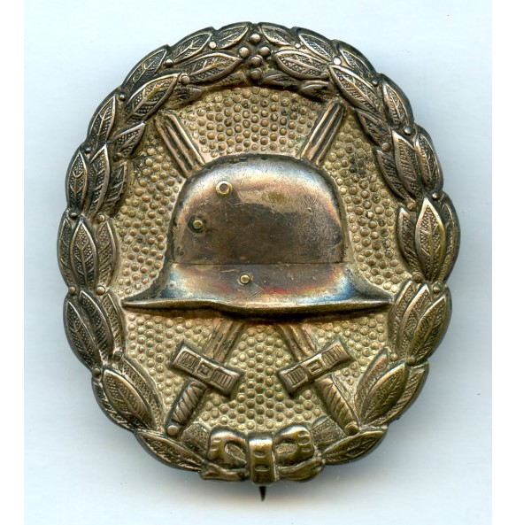 WW1 Wound Badge in silver by Otto Schickle