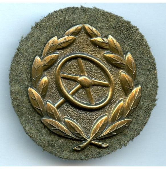 Driver's Badge in bronze