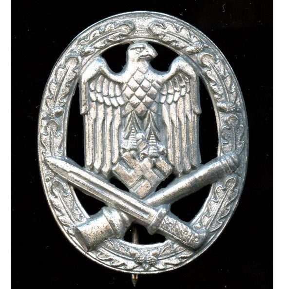 General assault badge in silver by Alois Rettemaier