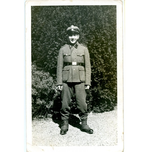 Private photo SS-mann Johann Ollinger, July 1944
