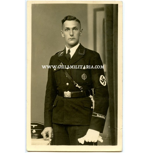"""Portrait photo Algemeine SS """"Deutschland"""" 1939, Gautag an Westwall 2.7.1939 Kaiserslautern"""