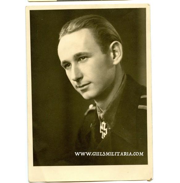 Portrait photo Panzer knights cross winner