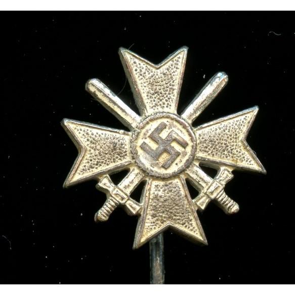 War merit cross 1st class with swords 16mm miniature by W. Deumer