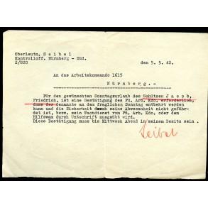 Close combat clasp in silver document set to F. Jacob, Pz. Gren. Rgt 128, april 1945