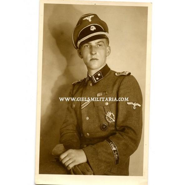 Portrait SS Hauptscharführer, officer candidate, Prague 1943