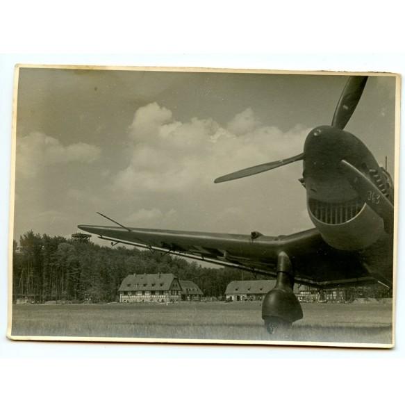 Private photo Stuka on grass field 1939