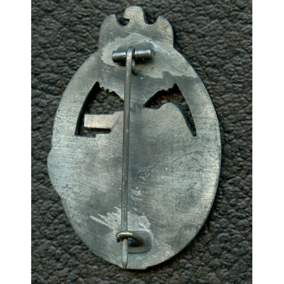Panzer assault badge in silver by Alois Rettemaier