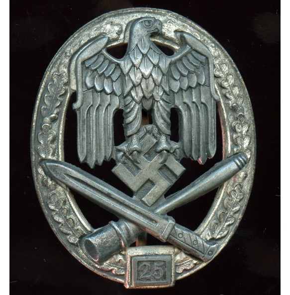 General assault badge 25 assaults by R. Karneth