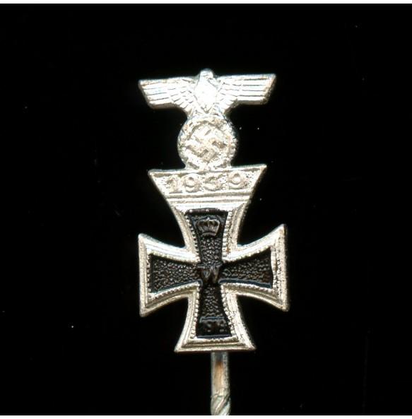 Iron cross 2nd class combo clasp miniature MINT
