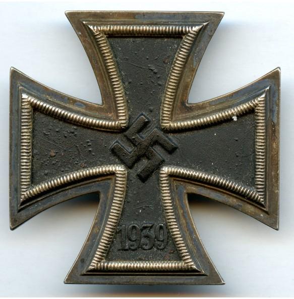 """Iron cross 1st class by Deschler & Sohn """"1"""""""
