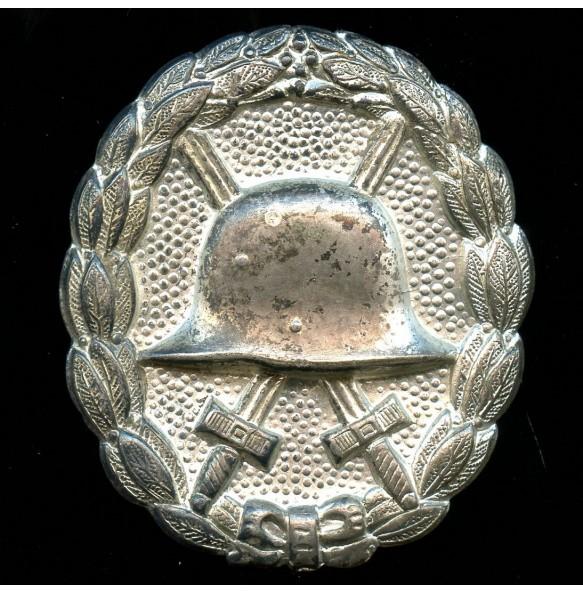 WW1 Wound Badge in silber bu Otto Schickle