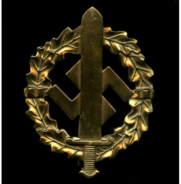 SA sport badge in gold by L. Chr. Lauer, Nürnberg-Berlin