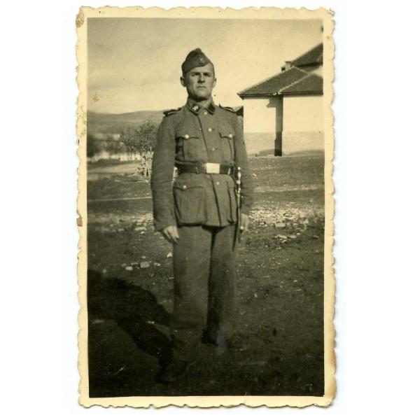 "Private photo member 7. SS-Freiw.-Geb.-Div. ""Prinz Eugen"""