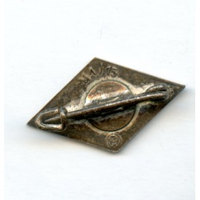 HJ membership diamond pin by Ferdinand Hoffstätter, Bonn