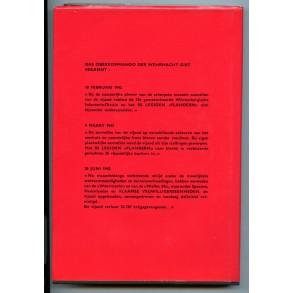 """Collectors book: """"Vlamingen aan het Oostfront"""" 1973"""