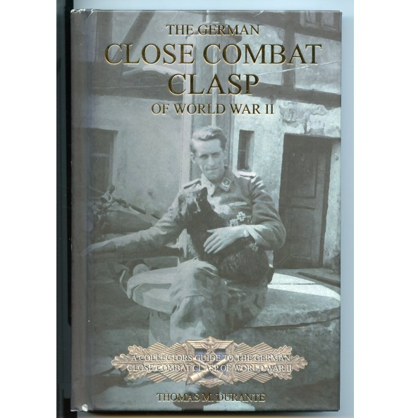 """Collectors book: """"The German Close Combat Clasp of WWII"""" by Thomas Durante"""