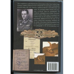 "Collectors book: ""The German Close Combat Clasp of WWII"" by Thomas Durante"
