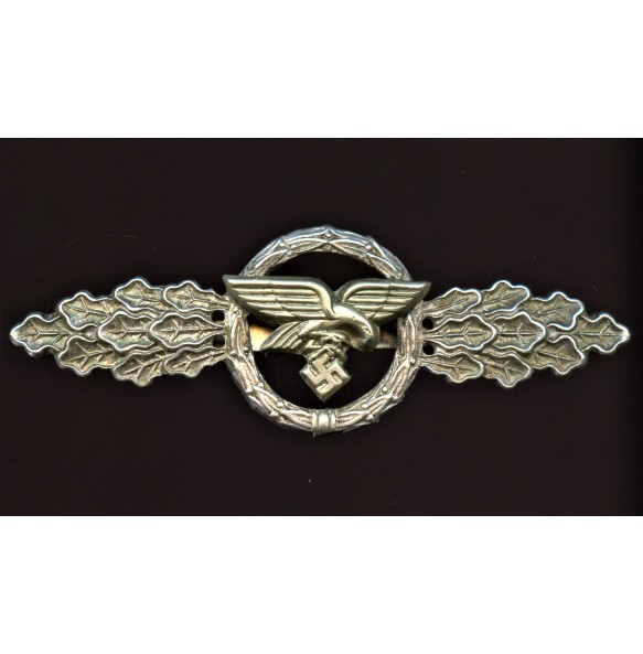 Luftwaffe transporter clasp in silver